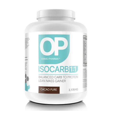 Osmo Pharma Isocarb 1:1 3.178kg 31 Servings (Cacao Pure)