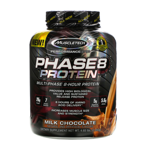 Phase 8 Protein 2.50lbs 26 Servings (Milk Chocolate)