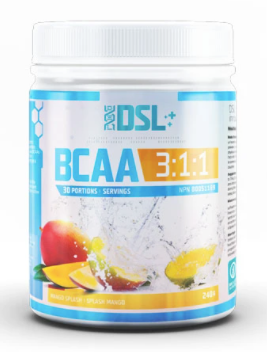 DSL BCAA 30 Servings (Mango Splash)