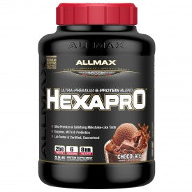 ALLMAX Hexapro 5 LBS 51 Servings (Chocolate)