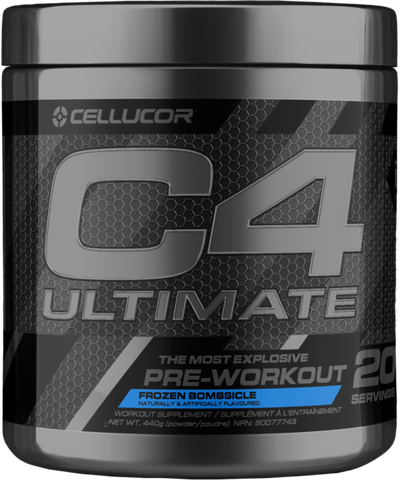 C4 Ultimate 20 Servings (Frozen Bombsicle)