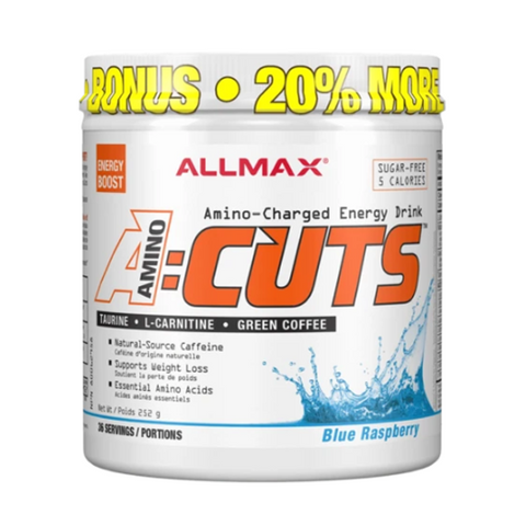 ALLMAX Aminocuts 36 Servings (Blue Raspberry)
