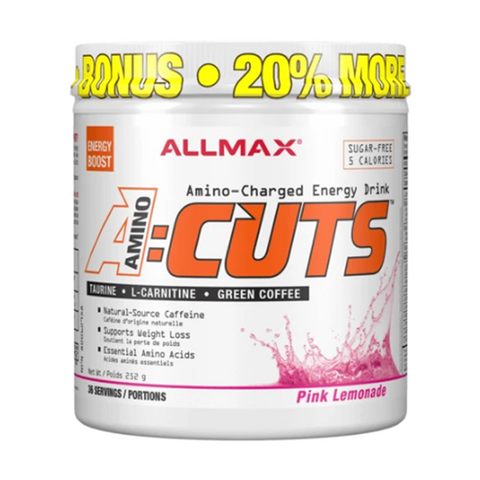 ALLMAX Aminocuts 36 Servings (Pink Lemonade)