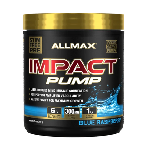 ALLMAX Impact Pump 30 Servings (Blue Raspberry)