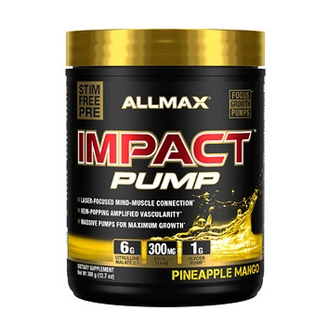 ALLMAX Impact Pump 30 Servings (Pineapple Mango)