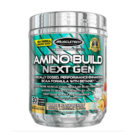 Muscletech Amino Build Next Gen (White Raspberry)