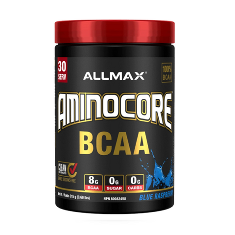 ALLMAX Aminocore 30 Servings (Blue Raspberry)