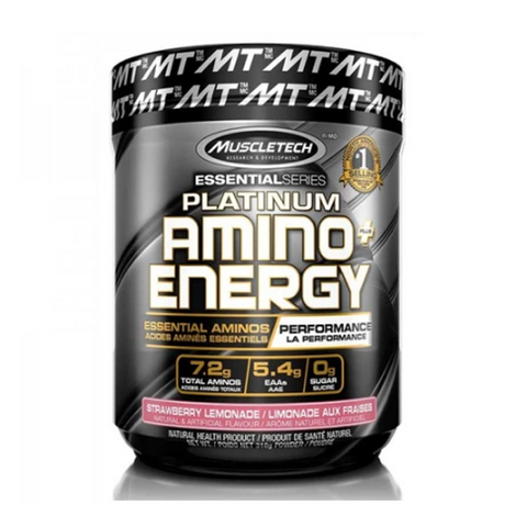 Muscletech Amino Energy+ 30 Servings (Strawberry Lemonade)
