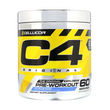 C4 Pre-Workout 60 Servings (Blue Razz)