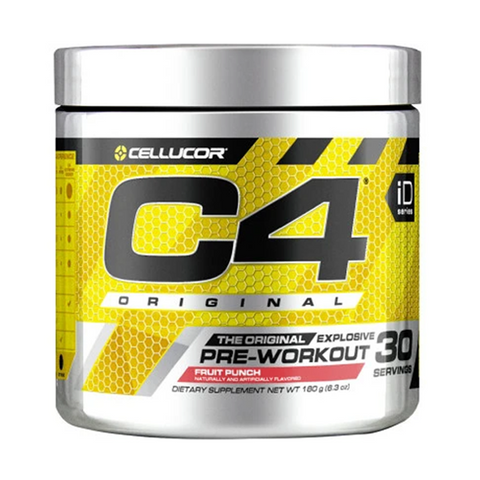C4 Pre-Workout 30 Servings (Fruit Punch)