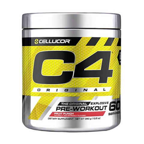 C4 Pre-Workout 60 Servings (Fruit Punch)