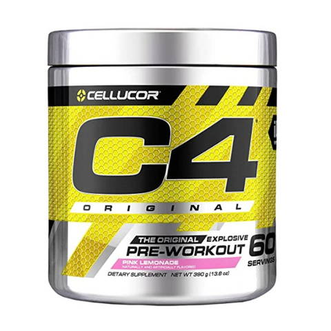 C4 Pre-Workout 60 Servings (Pink Lemonade)