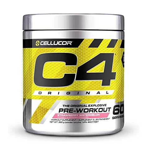 C4 Pre-Workout 60 Servings (Strawberry Watermelon)