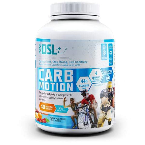 Carb Motion 2kg 40 Servings (Fruit Punch)