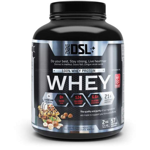 DSL Whey Protein 4.4LBS 57 Servings (Hazelnut)