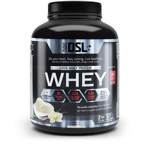 DSL Whey Protein 4.4LBS 57 Servings (Vanilla)