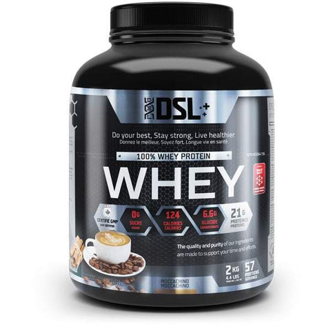 DSL Whey Protein 4.4LBS 57 Servings (Moccachino)