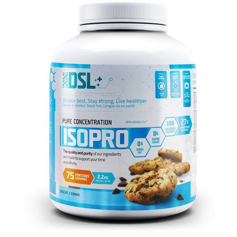 DSL Isopro Protein 5lbs 75 Servings (Cookie)