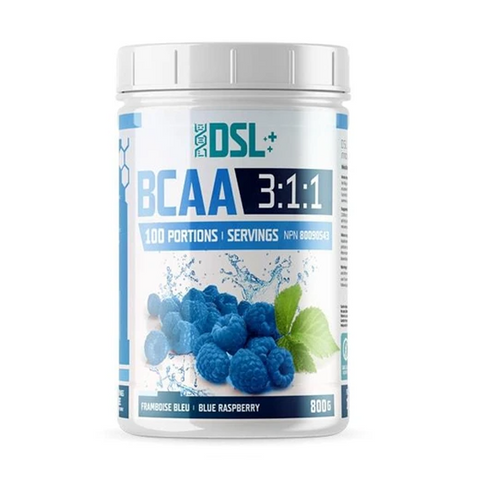 DSL BCAA 100 Servings (Blue Raspberry)