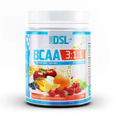 DSL BCAA 30 Servings (Fruits Explosion)