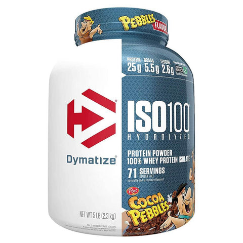 Dymatize ISO100 Hydrolyzed Protein 5lbs 71 Servings (Cocoa Pebbles)