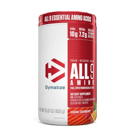 Dymatize ALL9 Amino 30 Servings (Orange Cranberry)