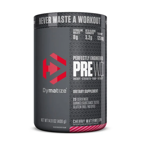 Dymatize PreWO 20 Servings (Cherry Watermelon)