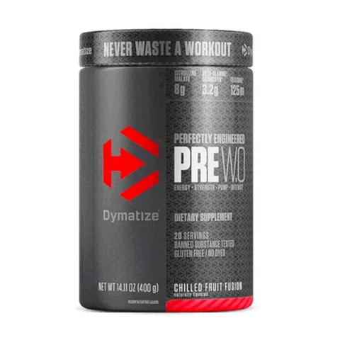Dymatize PreWO 20 Servings (Fruit Fusion)