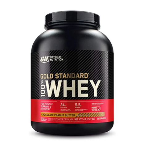 ON Gold Standard Whey 5LBS 71 Servings (Chocolate Peanut Butter)