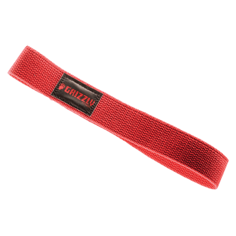 Grizzly Lifting Straps Red (8610-RD)