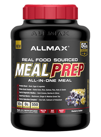 ALLMAX Meal Prep 5.6lbs (Blueberry Cobbler)