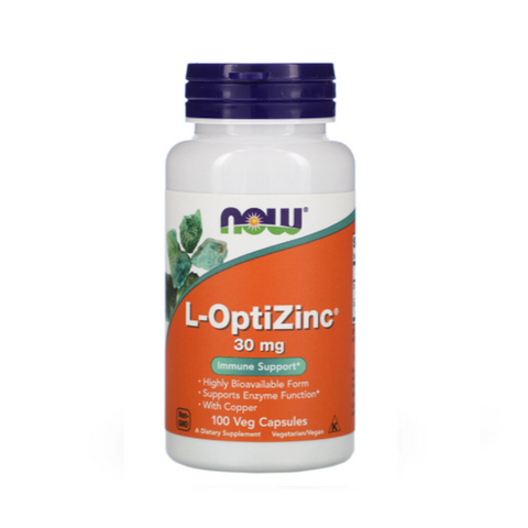 L-OptiZinc 30mg (100 Caps)