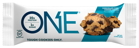 One Protein Bar Individual (Chocolate Chip Cookie Dough)