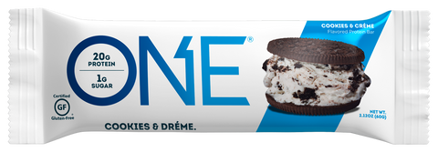 One Protein Bar Individual (Cookies&Creme)