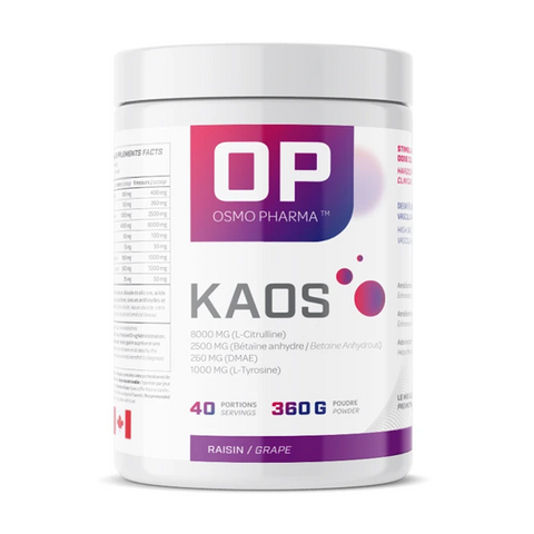 Osmo Pharma KAOS Pre-Workout 40 Servings (Grape)