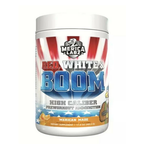 Red, White & Boom Pre-Workout 20 Servings (Merica Made)