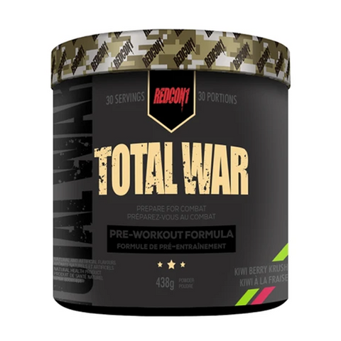 Total War Pre-Workout 30 Servings (Kiwi Berry Krush)