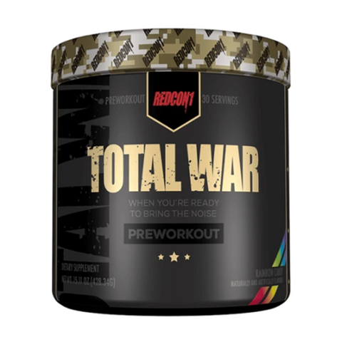 Total War Pre-Workout 30 Servings (Rainbow Candy)