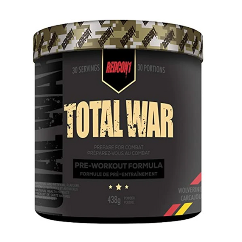 Total War Pre-Workout 30 Servings (Wolverine)
