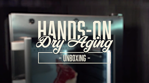 Hands on Dry Aging - Unboxing