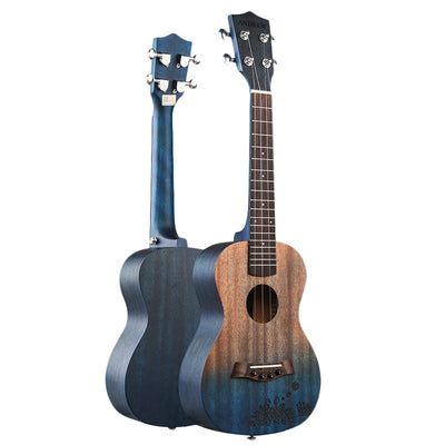 ANDREW 23 Inch Ukulele Concert Ukulele 4 Nylon Strings Mini Guitar Hawaiian Mahogany Stringed Instruments Rosewood fingerboard