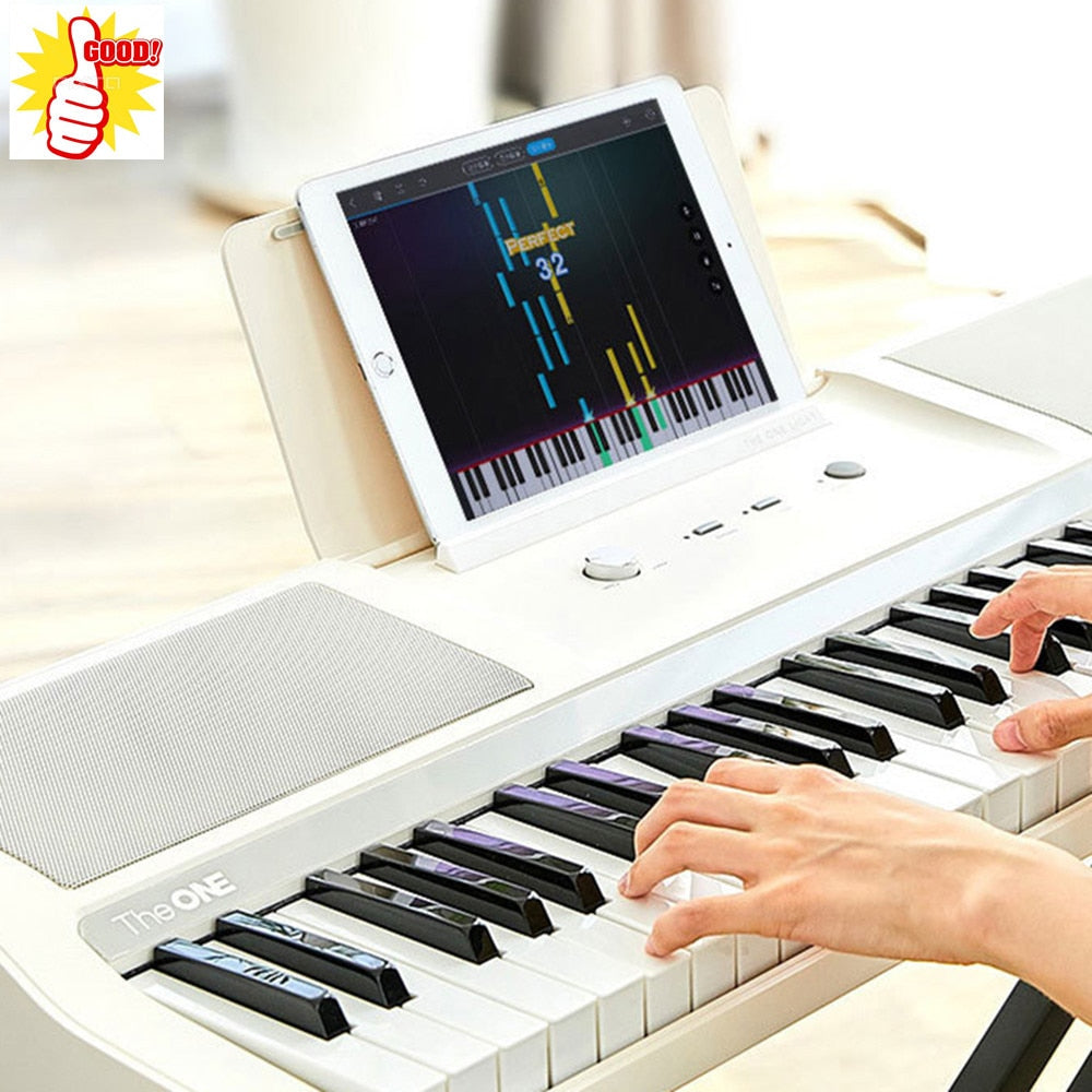 Smart Electronic Organ Beginner Music Instrument APP Smart Playing Education 61-Key Sensing with MFI Certification