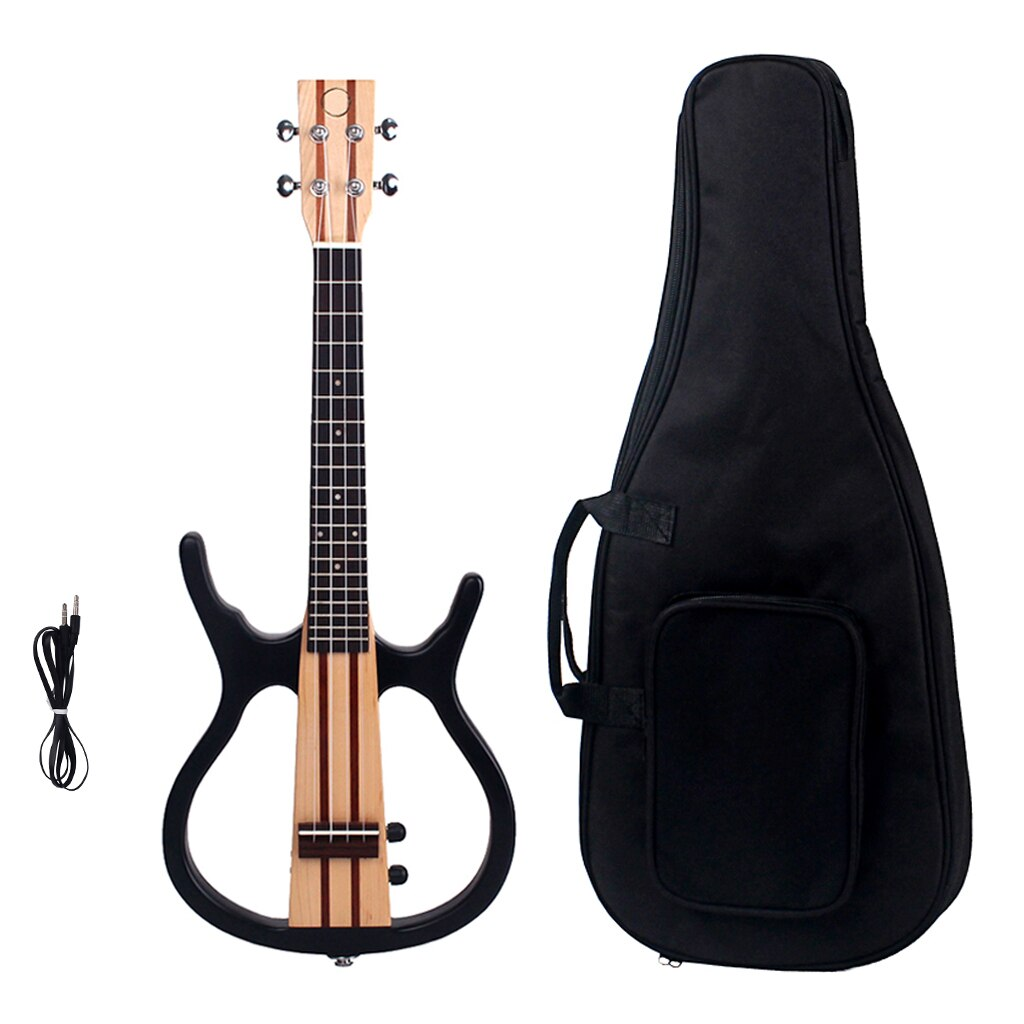Solid Wood Tenor Ukulele 26 Inch 4 Strings Hawaii Guitar for Kids Students Adults Music Lovers Musical Instruments