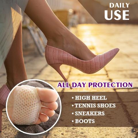 Silicone Honeycomb Forefoot Pad