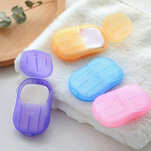 Portable Hand-Washing Paper 5 boxes (100 PCS)