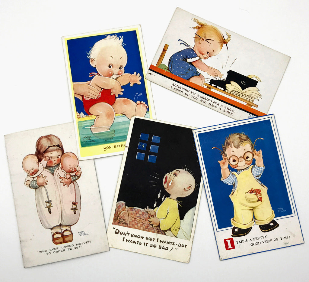 Collection of Mabel Lucie Attwell postcards