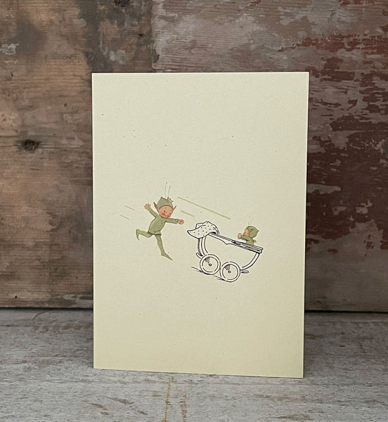 Oh what wonderful chaos you bring little Boo-Boo, truly! Greetings card