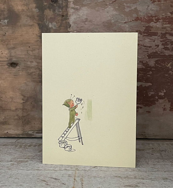 Never a job too big and never a Boo-Boo too small! Greetings card