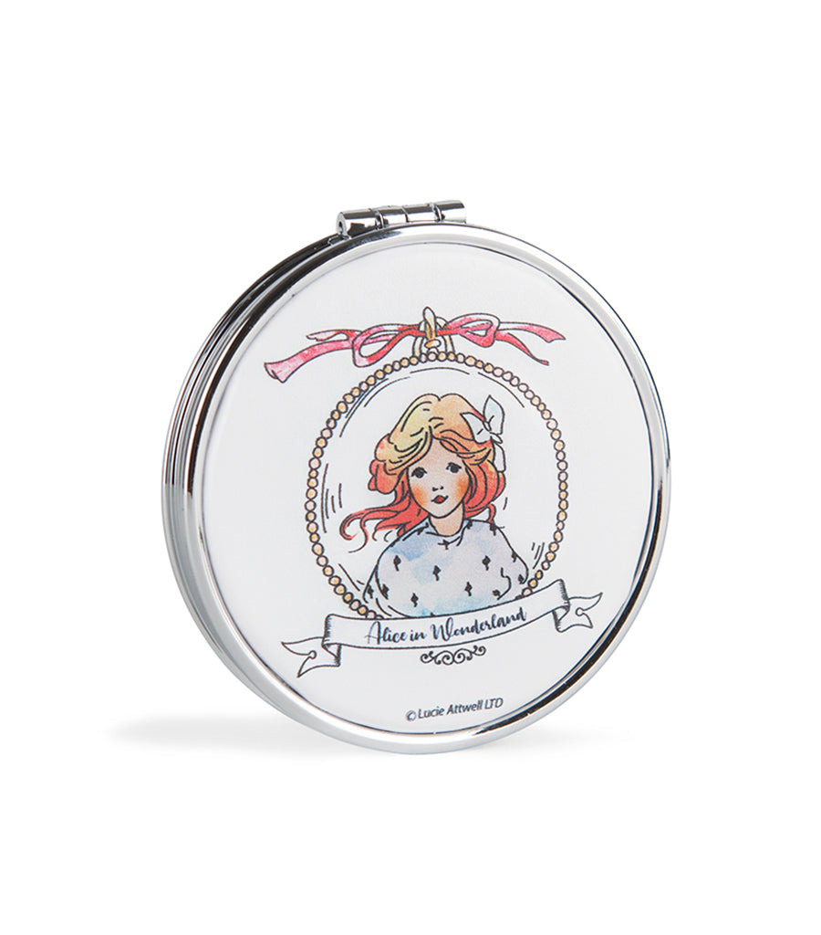 Mabel Lucie Attwell compact mirror from the Alice in Wonderland collection