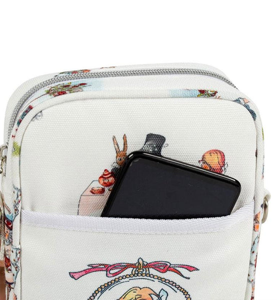 Alice in Wonderland – Cross body travel bag
